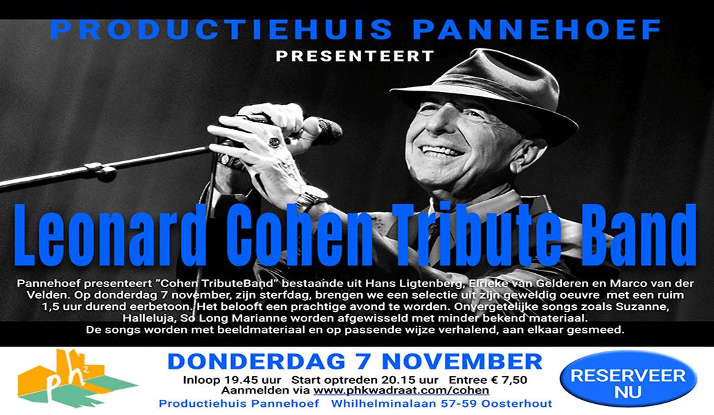 Tribute Leonard Cohen